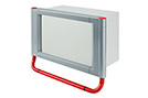 Handle system red, RAL 3020