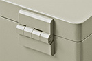 aluTWIN lid hinges