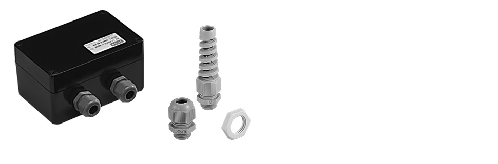 Metric and PG plastic cable glands