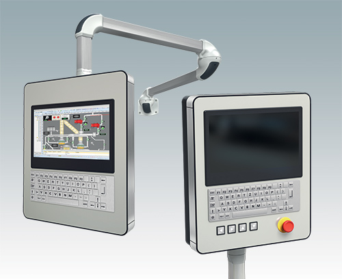 Specifying command enclosures for HMI