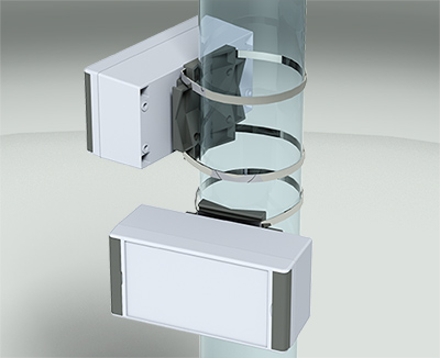 technoPLUS pole mount enclosures