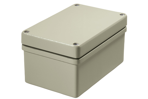 EMC conformant enclosure made of aluminum