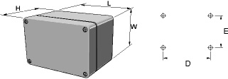 polyTOP Enclosures Dimensions