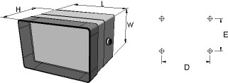 aluFACE KSE Enclosures Dimensions