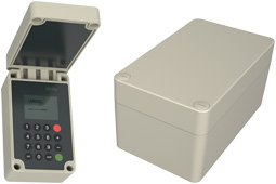 polyDOOR IP66 GRP polyester electronic enclosures range